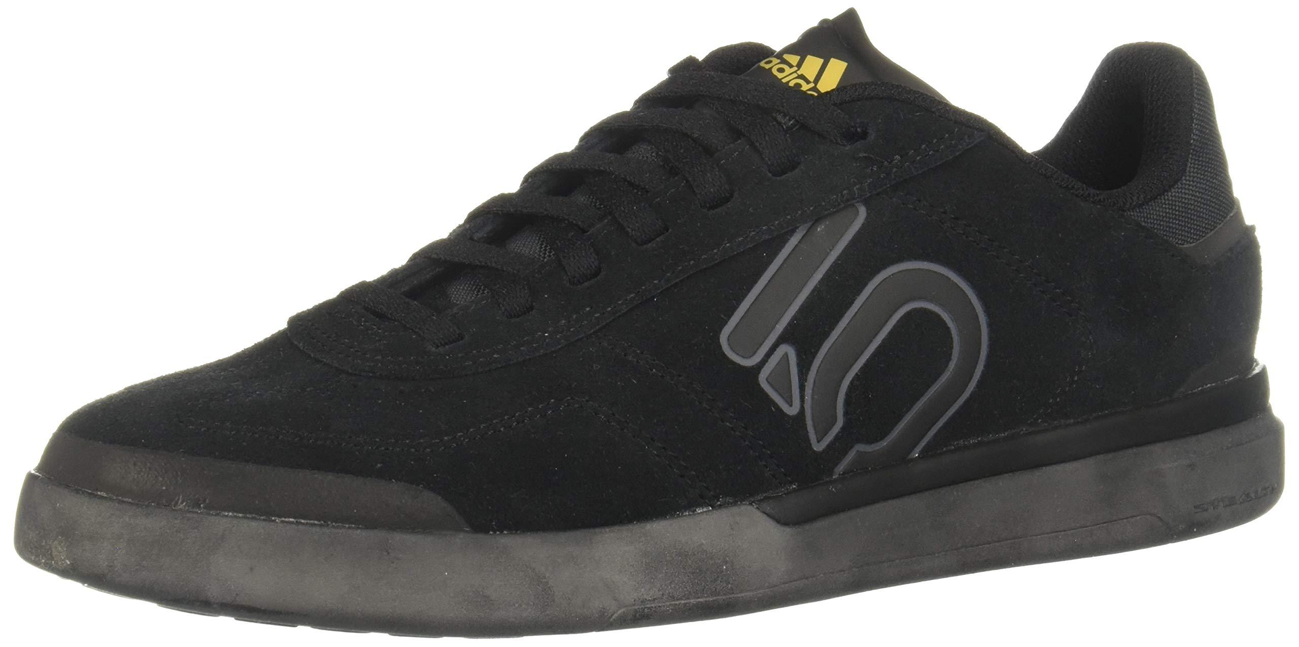 adidas Damen Sleuth DLX Mountain Biking Shoe, Core Black/Grey/Matte Gold, 40 EU