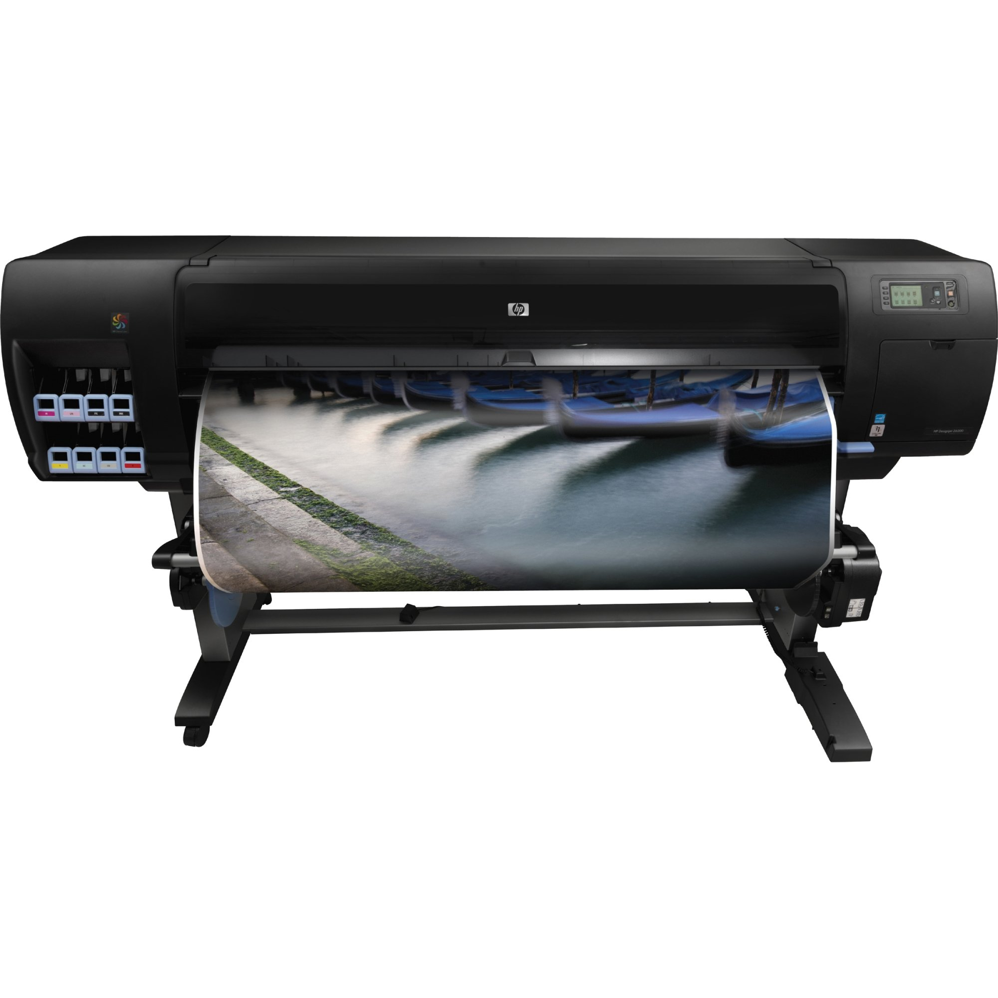HP Designjet Z6200 42-in Photo Printer - Impresora de gran formato (2.1 min/p, 3.2 min/p, HP-GL/2, HP-RTL, Cian claro, Magenta claro, magenta, Negro mate, photo black, Amarillo, 17 cm, 775 ml): Amazon.es: