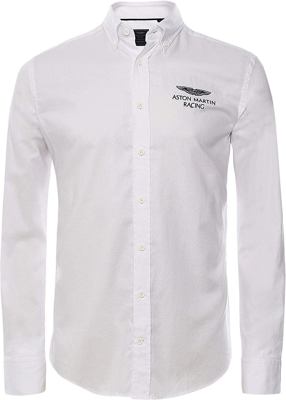 Hackett London Amr Left Chest Logo Camisa para Hombre