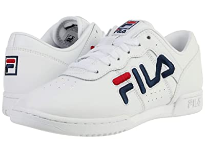 Fila Original Fitness (White/Navy/Red) Women