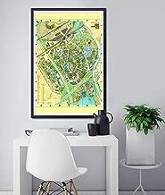 1964 New York World's Fair MAP POSTER! (Full-size 24