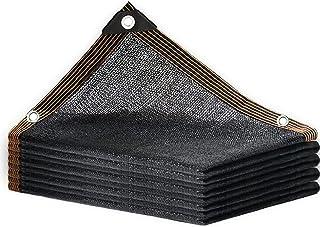 70% Sunblock Shade Cloth Net Black Resistant Balcony Privacy Screen Greenhouse Covers Sun Shade Sail Canopy, Sunscreen Fab...
