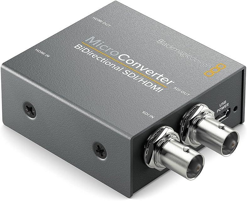 Blackmagic Design CONVBDC/SDI/HDMI convertidor de Video 1920 x 1080 Pixeles - Conversor de vídeo (1920 x 1080 Pixeles 720p1080i1080p SDI/HDMI 525 V 25 W Gris)