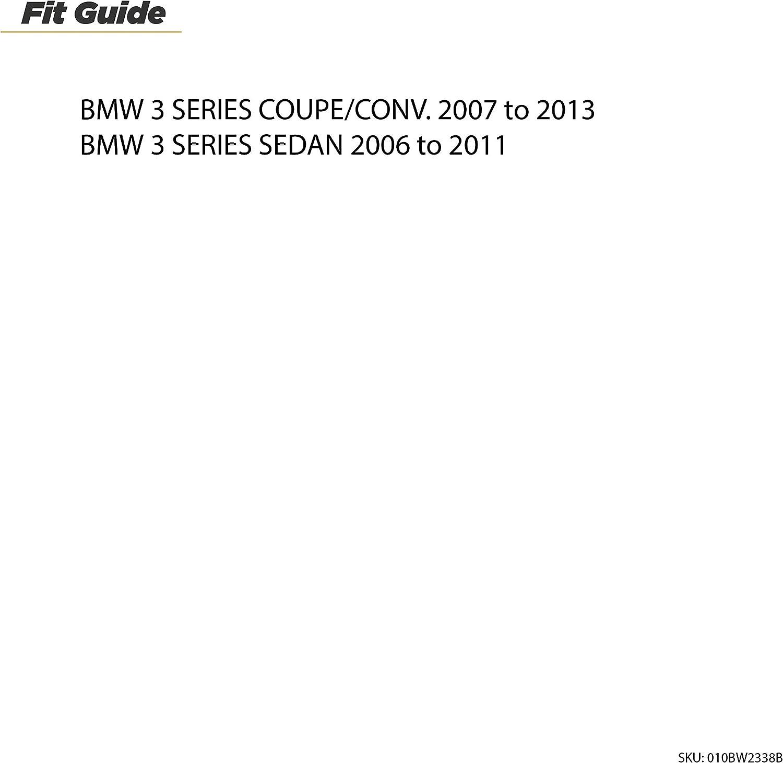 SCOSCHE BW2338B 2006-11 BMW 3 Series Single DIN Installation Dash Kit