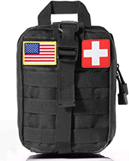 GOOD TAKE Waterproof Travel First Aid Kits, Oxford Cloth Tactical Waist Pack, Camping Climbing Tactical EMT Medical First ...