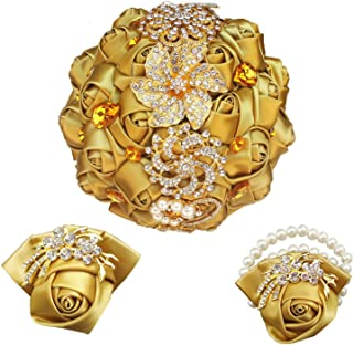 Best jeweled golden brooch Reviews