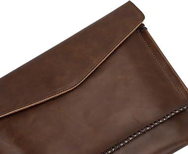 Fashion Damen A4 große Clutch Bag Umschlag Abendtasche