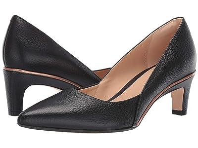 Clarks Ellis Rose (Black Leather) High Heels