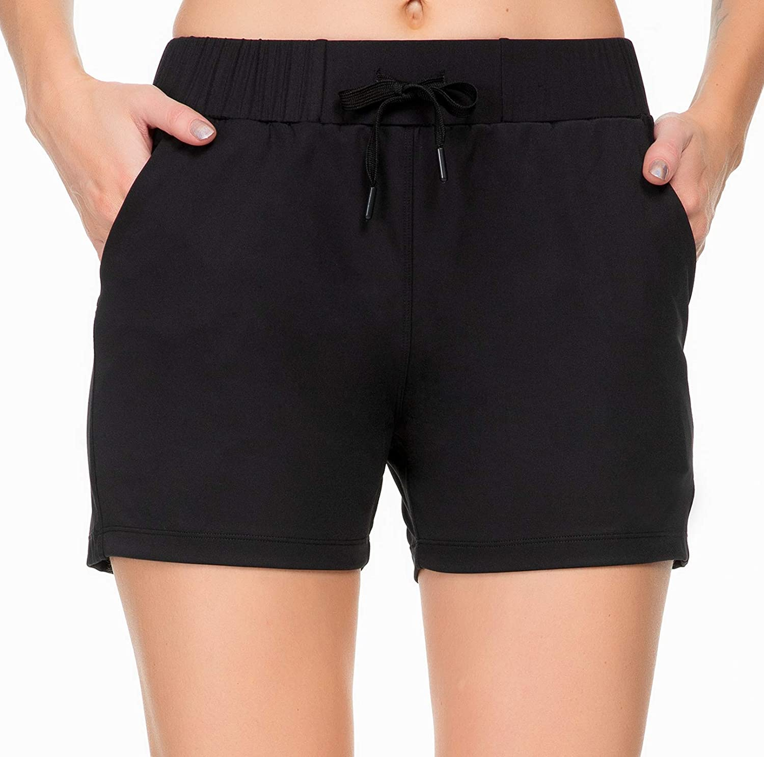 Kcutteyg Workout Shorts for Women with 3 Pockets A Running Ranking integrated 1st place Super popular specialty store Yoga