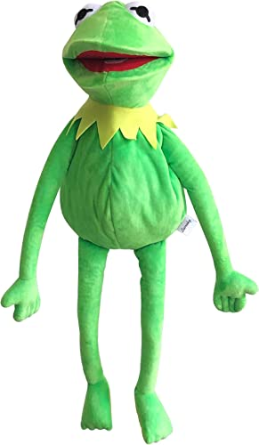 Kermit Frog Puppet, The Muppets Show, Soft Hand Frog Stuffed Plush Toy, Gift Ideas for Boys and Girls- 24 Inches