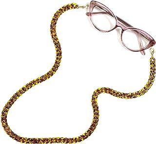 Cadena para gafas, correa para gafas de sol, cadena para gafas, retenedor de gafas de moda, soporte para gafas, collar y c...