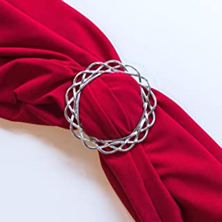 1065 Hand Cast Fine Pewter Scarf Ring Scarf Jewelry