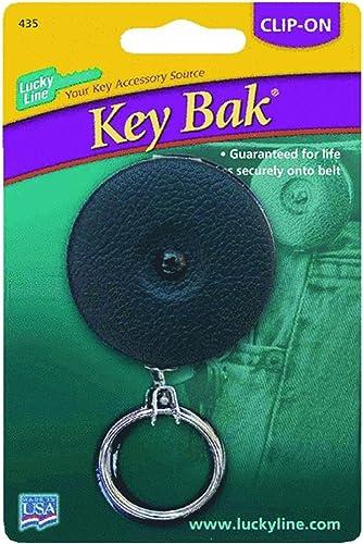 gran selección y entrega rápida Lucky Line43601Key Bak Retractable Key Chain-BLK Chain-BLK Chain-BLK KEY BAK  Ahorre 35% - 70% de descuento
