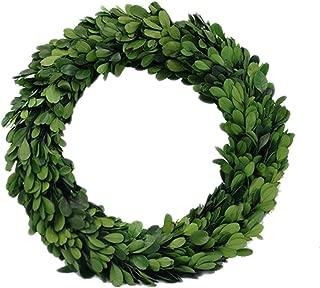 Preserved Garden Boxwood Round Wreath 10