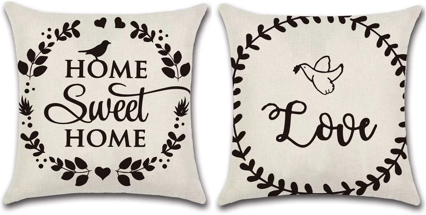 JOJUSIS 2021 spring and summer new Farmhouse Outdoor Throw [Alternative dealer] Covers Decorative Waterpr Pillow