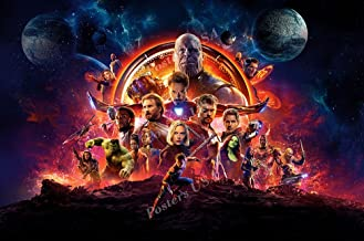 Posters USA Marvel Avengers Infinity War Textless Movie Poster GLOSSY FINISH - FIL752 (24