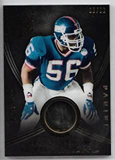 2014 Panini Black Gold Football Lawrence Taylor Gold Standard Gold Piece Card # 9/20