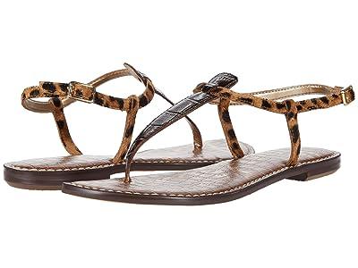 Sam Edelman Gigi (Dark Brown/Brown Multi Splendor Croco Leather/Leone Leopard Brah) Women