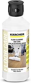 Karcher Oiled/Waxed Floor Wood Cleaner, 16.9 oz, White