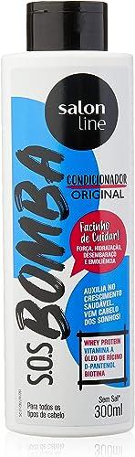 Condicionador Uso Diário 300ml Bomba Unit, Salon Line