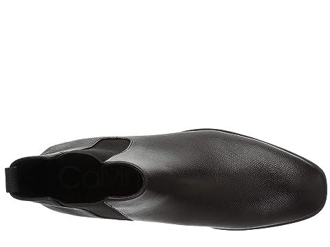Tumbled Klein Calvin Small LeatherNew Brown Tan Corin BlackDark PppgU6T