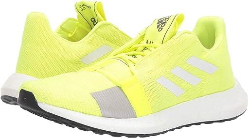 Solar Yellow/Footwear White/Grey Six