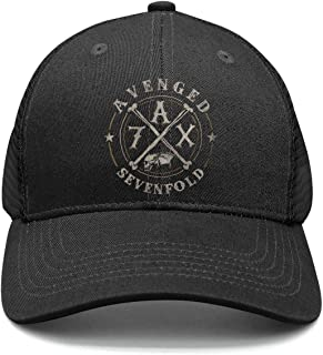 Mens/Woman Adjustable Trucker Hat avenged-sevenfold-A7X-logo- Classic Baseball Hat