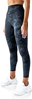 "Kamo Fitness High Waisted Yoga Pants 25"" Inseam Ellyn Leggings Butt Lifting Tie Dye Soft Workout Tights"