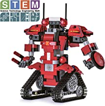 Ganowo Robot Building Kits for Kids, STEM Remote Controlled Robot kit Toys Building Robot for Kids,Teens, Educational Lear...