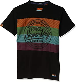 SuperDry Men's Ticket Type Oversized Fit T-Shirts