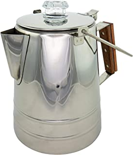 Coletti Butte Camping Coffee Pot | Campfire Coffee Pot | Camping Percolator