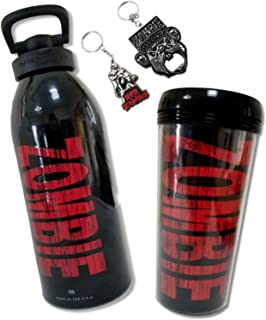 Rob Zombie 4 Piece Gift Set Keychain, Bottle Opener, Water Bottle and Tumbler