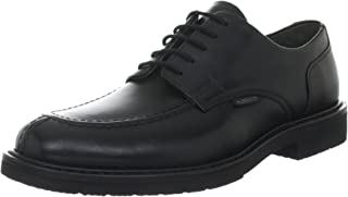 6730028a37 Mephisto Phoebus Black Leather Formal Mens Shoe