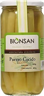 Bionsan Puerro Cocido Ecológico - 4 Botes de 400 gr - Total: 1600 gr