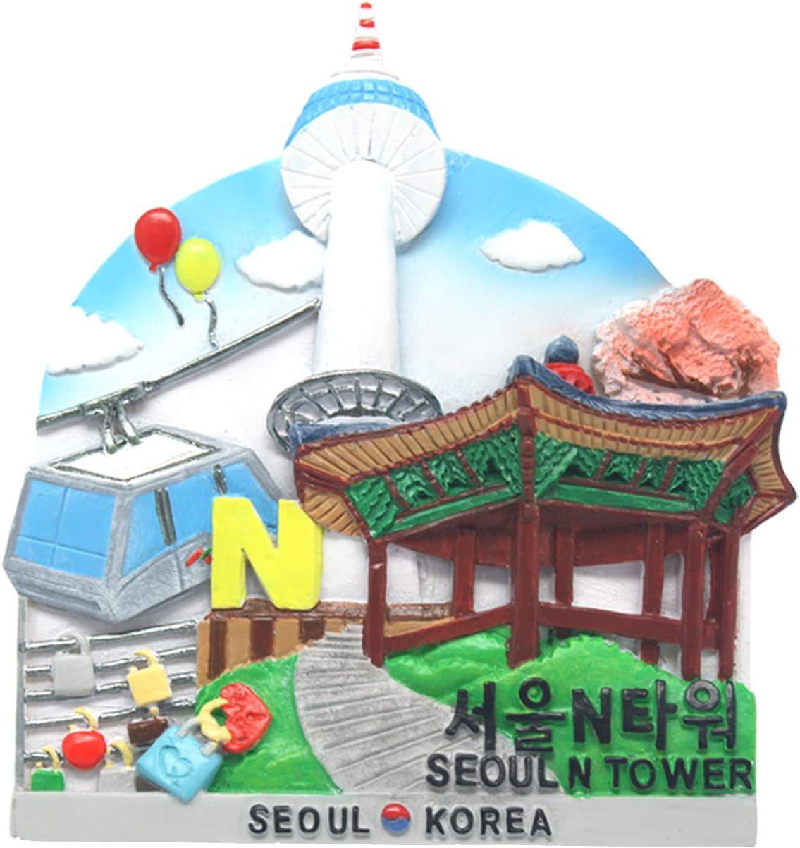 Details about  /9 Pcs Fridge Magnet of Korean Traditional Clothes Hanbok Tourist Travel Souvenir