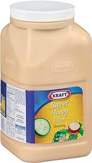 KRAFT Sweet Honey Dijon Dressing, 1 gal. Jugs (Pack of 4)
