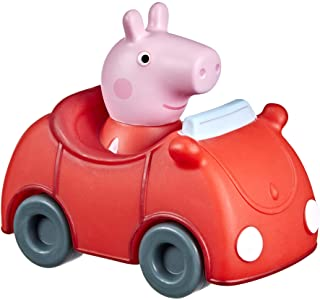 Peppa Pig Peppa's Adventures Little Buggy Vehicle Preschool Toy for Ages 3 and Up in The Pig Family Red Car