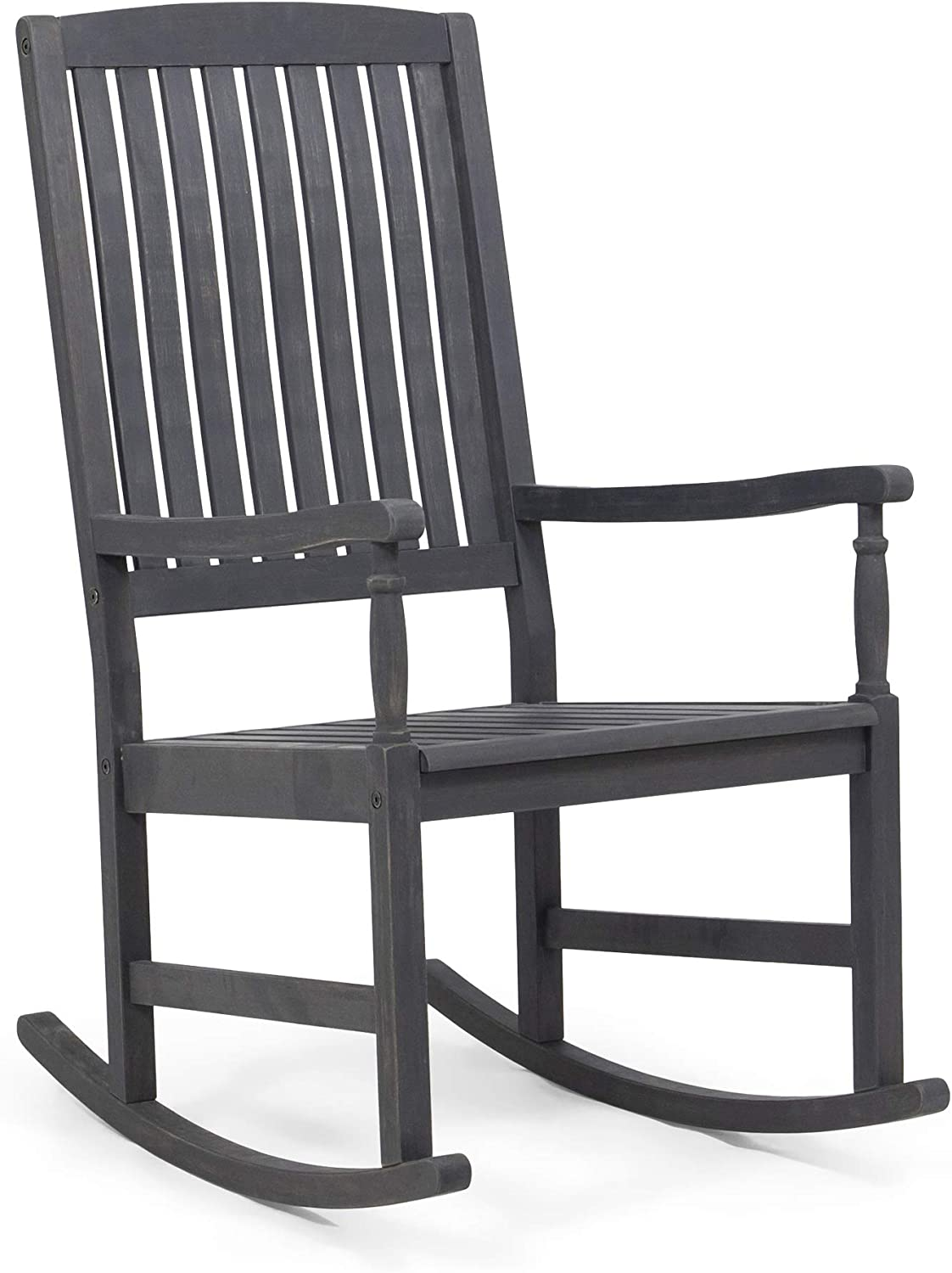 Great Deal Furniture Myrna Outdoor Wood Acacia Chair Da Rocking OFFer Quality inspection