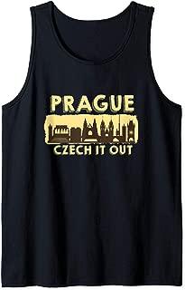 Prague Shirt Czech It Out Czech Republic Gift Souvenir  Tank Top