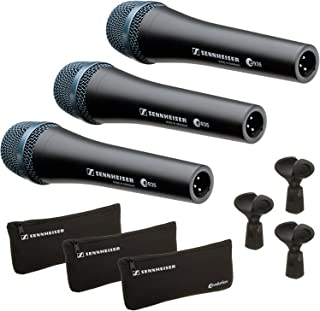 Sennheiser E935-3 Pack - Professional Cardioid Dynamic Handheld Microphones