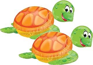 "Set of 2 Jumbo Sea Turtle 31"" Foil Party Balloons"