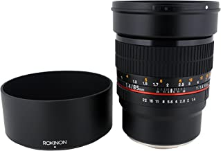 Rokinon 85M-E 85mm F1.4 Fixed Lens for Sony, E-Mount and for Other Cameras