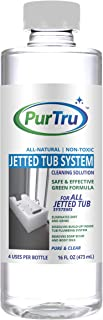 Jetted Tub and Plumbing System Cleaner - All Natural and Safe Cleaner For Whirlpool, Jacuzzi, Kohler And All Jetted Tubs, Hot Tubs, Bath Tubs and Spa Tubs