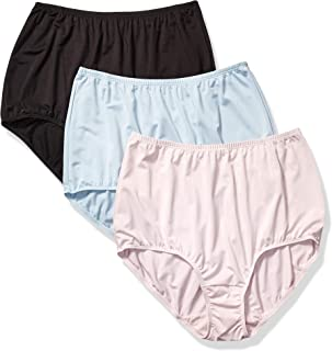 Olga Women's Without a Stitch 3 Pack Tailored Brief Panties