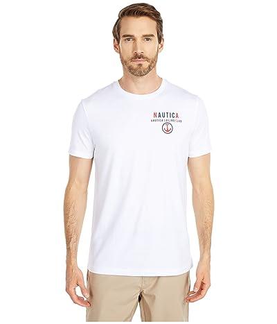 Nautica Graphic Tee (White) Men