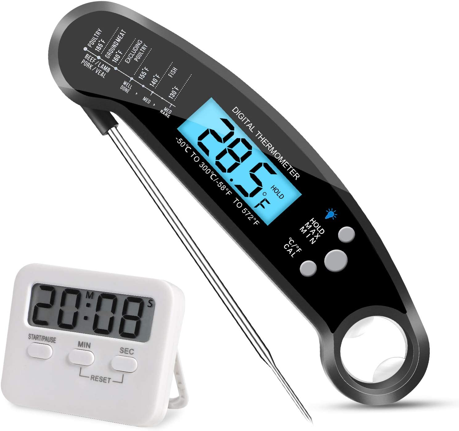 Meat Thermometer Price reduction QUTTUP Digital Inexpensive Read w Instant Food