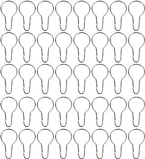 40 Pack Anneaux de Rideau de Douche Crochets Suspendus pour Tri et Organisation