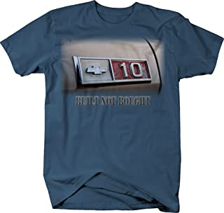 OS Gear Chevy C10 Built Not Bought Vintage 1970's Truck Tshirt