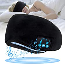 Wireless Sleeping Headphones,Bluetooth Sleeping Headphones Stereo Bluetooth Sleep Eye Mask Wireless Bluetooth Headphones M...