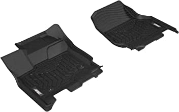 1st Row Only ARIES FR07211809 StyleGuard XD Black Custom Truck Floor Liners Ford F-150